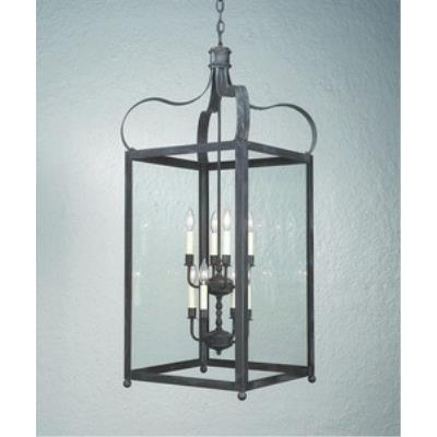 Troy Lighting FCD8923CI Bradford - Eight Light Outdoor Large Pendant