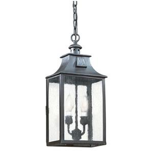 Newton - Two Light Outdoor Medium Hanging Lantern
