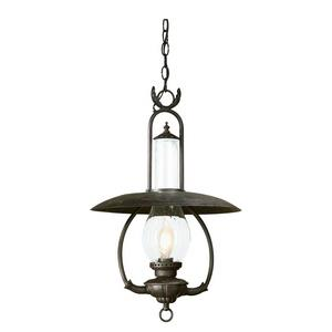La Grange - One Light Outdoor Large Hanging Lantern