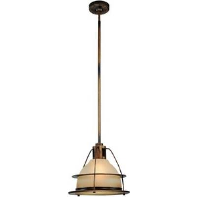 Troy Lighting FF2058SBZ Bristol Bay - One Light Pendant