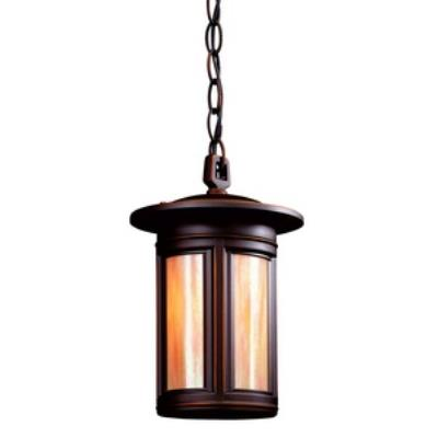 Troy Lighting FFIH6913 Highland Park - One Light Outdoor Small Hanging Lantern