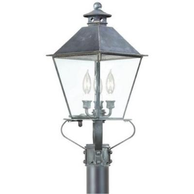 Troy Lighting PCD9135 Montgomery - Three Light Outdoor Post Mount