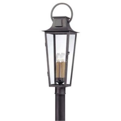 Troy Lighting PF2965 French Quarter - One Light Outdoor Post Mount