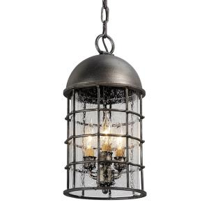 Charlemagne - Three Light Medium Outdoor Hanging Lantern