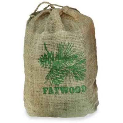 UniFlame C-1751 9 Inch Fatwood in Burlap Sack