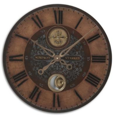"Uttermost 06038 Simpson Starkey - 23"" Round Clock"