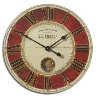 "Uttermost 06042 S.B. Chieron - 23"" Round Wall Clock"