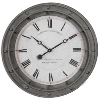 "Uttermost 06092 Porthole - 24.38"" Wall Clock"