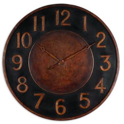 "Uttermost 06691 Matera - 36"" Round Clock"