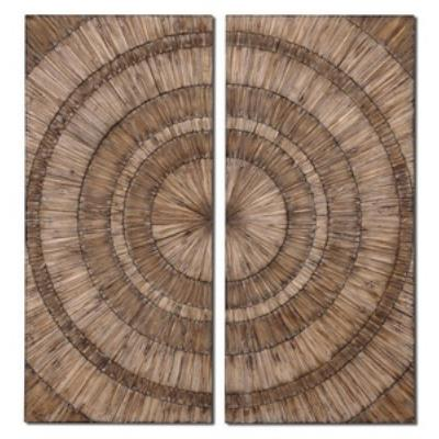 "Uttermost 07636 Lanciano - 52"" Wall Art(Set of 2)"
