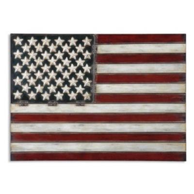 Uttermost 13480 American Flag - Wall Art