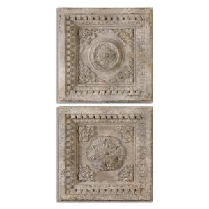 "Auronzo - 25"" Square Decorative Wall Art (Set of 2)"