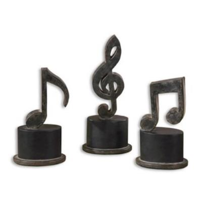 Uttermost 19280 Music Notes - Statue (Set of 3)