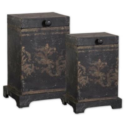 "Uttermost 19320 Melani - 8"" Decorative Box (Set of 2)"