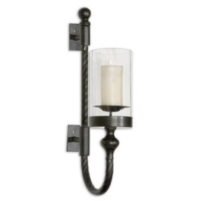 "Uttermost 19476 Garvin Twist - 26.75"" Wall Sconce Candleholder"