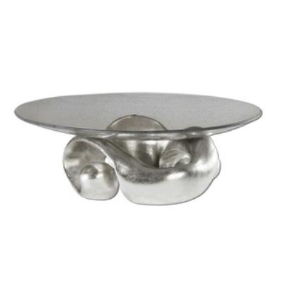"Uttermost 19484 Entwined - 17.25"" Glass Bowl"