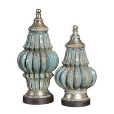 Uttermost 19546 Fatima - Decorative Urn (Set of Two)