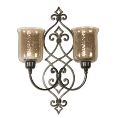Uttermost 19564 Sorel - Double Wall Sconce