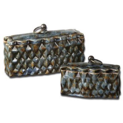 Uttermost 19618 Neelab - Decorative Box (Set of 2)