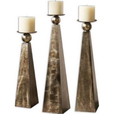 Uttermost 19652 Cesano - Decorative Candle Holder (Set of 3)