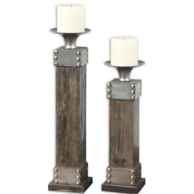 Uttermost 19668 Lican - Decorative Candle Holder (Set of 2)