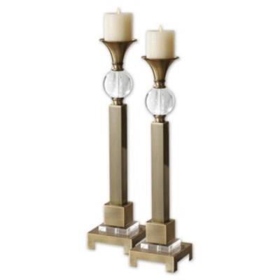 Uttermost 19682 Euron - Decorative Candle Holder (Set of 2)