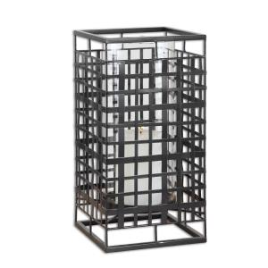 """Caged In - 17"""" Candleholder"""