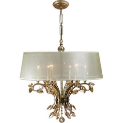 Uttermost 21246 Alenya - 6 Light Chandelier