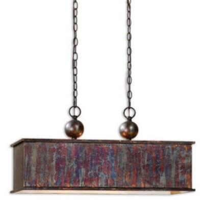 Uttermost 21922 Albiano - Two Light Rectangular Pendant