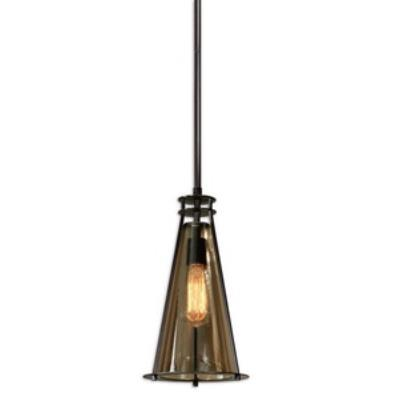 Uttermost 21965 Frisco - One Light Mini Pendant