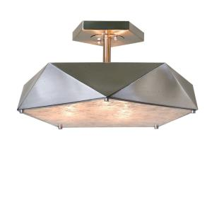 Tesoro - Three Light Semi-Flush Mount