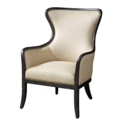 Uttermost 23051 Zander - Wing Chair