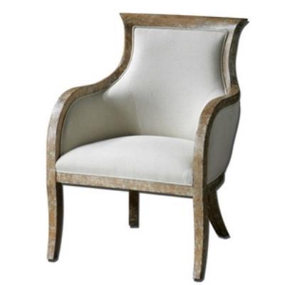 """Uttermost 23080 Quintus - 36.75"""" Arm Chair"""