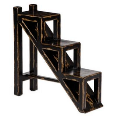 "Uttermost 25523 Asher Black - 31.5"" Accent Table"
