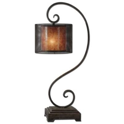 Uttermost 29572-1 Dalou Scroll - One Light Table Lamp