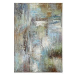 "Dewdrops - 70"" Modern Abstract Wall Art"
