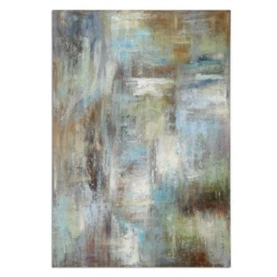 "Uttermost 32224 Dewdrops - 70"" Modern Abstract Wall Art"