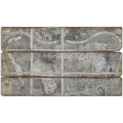 Uttermost 32524 Map Of The City - Decorative Canvas
