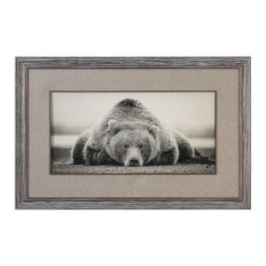 """Deep Sleep - 50.13"""" Bear Decorative Wal Art"""