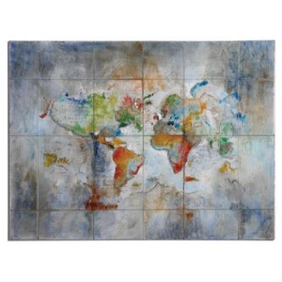 "Uttermost 34256 World of Color - 36"" Decorative Wall Art"