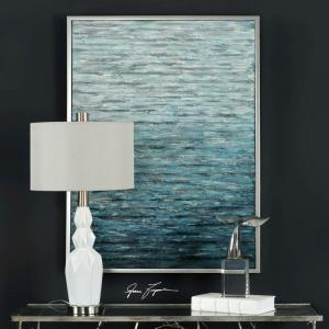 "Filtered - 41.5"" Modern Abstract Wall Art"