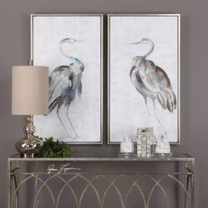 """Summer Birds - 46.75"""" Bird Art (Set of 2)"""