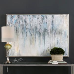 "Overcast - 41.75"" Abstract Wall Art"