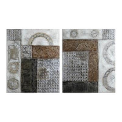 Uttermost 41801 Connection I, II - Decorative Artwork (Set of Two)