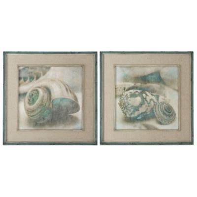 "Uttermost 51084 Coastal Gems - 28"" Decorative Wall Art - (Set of 2)"