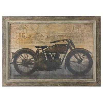"Uttermost 51086 Ride - 30"" Decorative Wall Art"