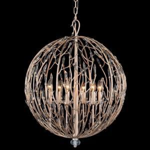 Bask - Six Light Orb Pendant