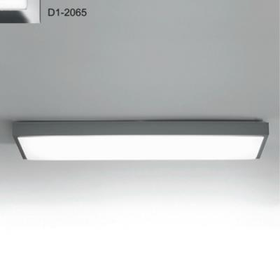 Zaneen Lighting D1-2065 Flat-R - Two Light Flush Mount