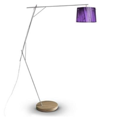 Zaneen Lighting D12-4004 Woody - One Light Floor Lamp
