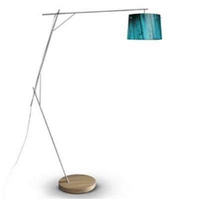 Zaneen Lighting D12-4006 Woody - One Light Floor Lamp